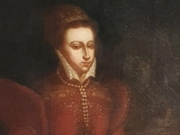 Oil painting of Mary Queen of Scots attributed to Federico Zuccaro